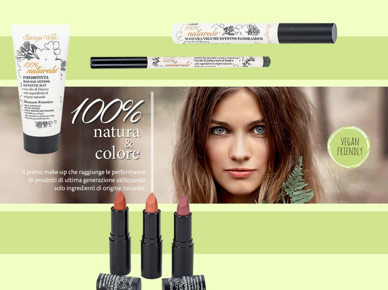 Bottega verde make up bio prodotti di bellezza in profumeria e grande distribuzione
