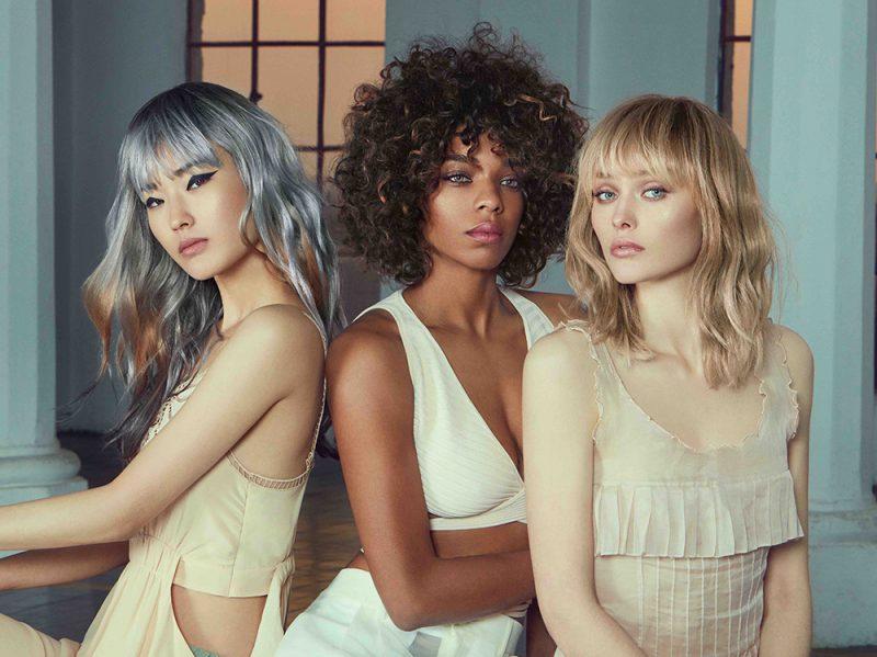 COTRIL tendenze frangia classica capelli saloni primavera estate 2018