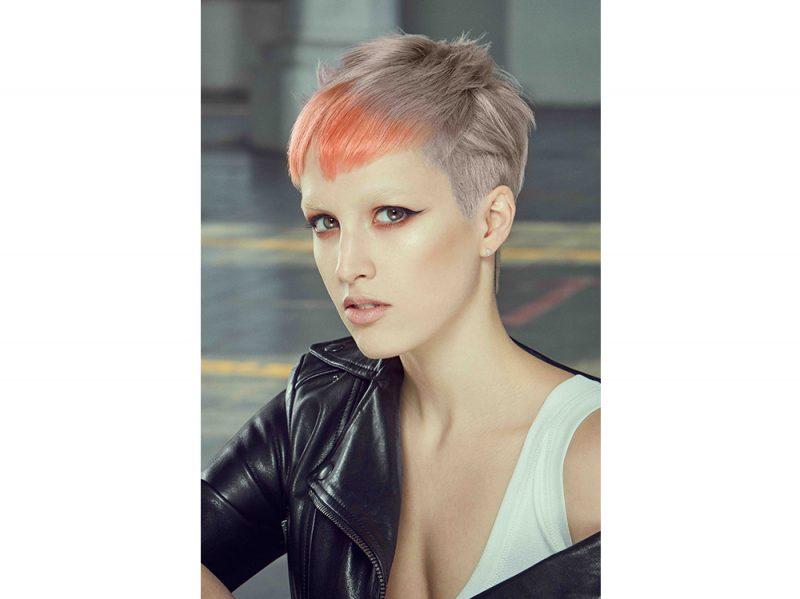 COTRIL tendenze frangia corta capelli saloni primavera estate 2018
