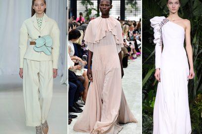 Gli abiti da sposa dalle sfilate Autunno-Inverno 2018
