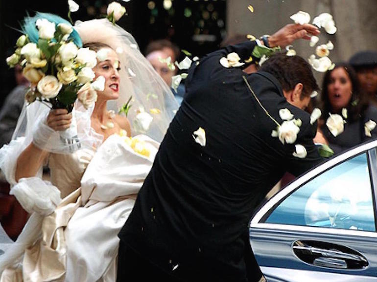 Carrie Bradshaw stress matrimonio