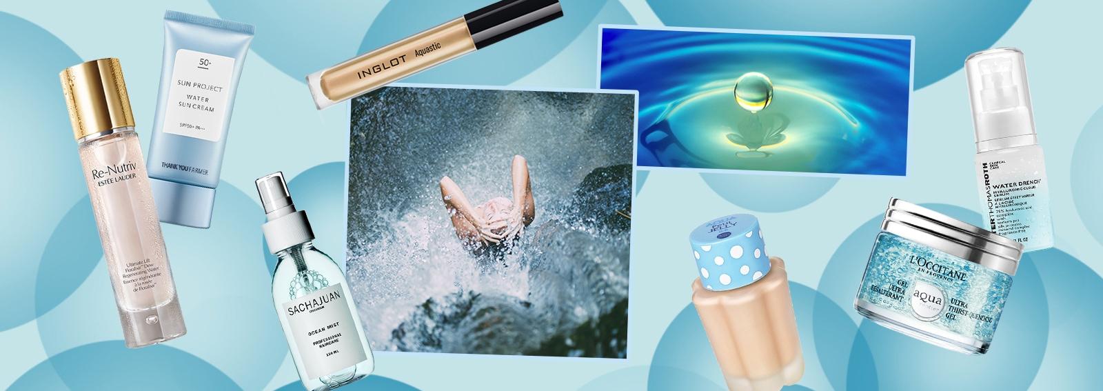 Il nuovo focus è la pelle idratata, da realizzare con tutti i prodotti a base d'acqua