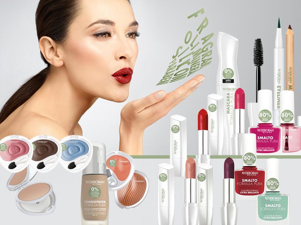 Deborah make up bio prodotti di bellezza in profumeria e grande distribuzione