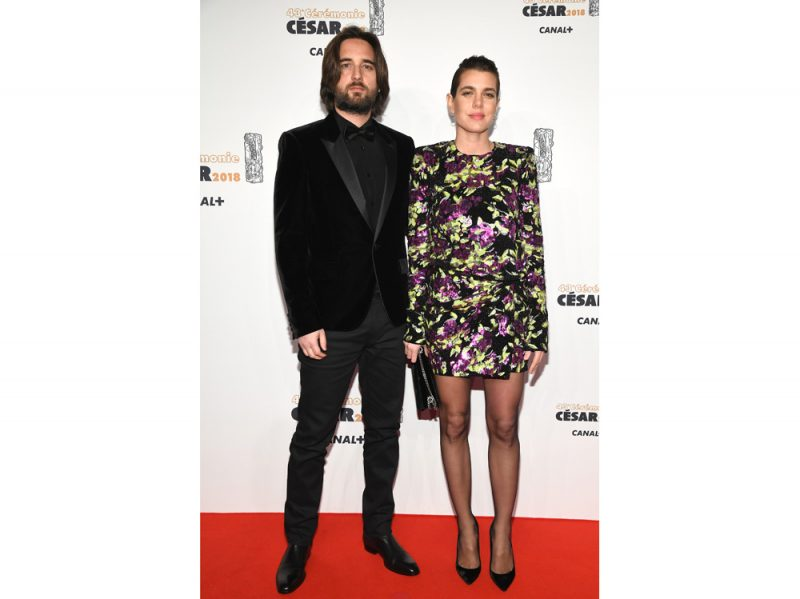 Dimitri Rassan and Charlotte Casiraghi