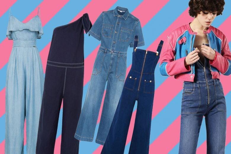 La salopette di jeans? Un vero must per la primavera!