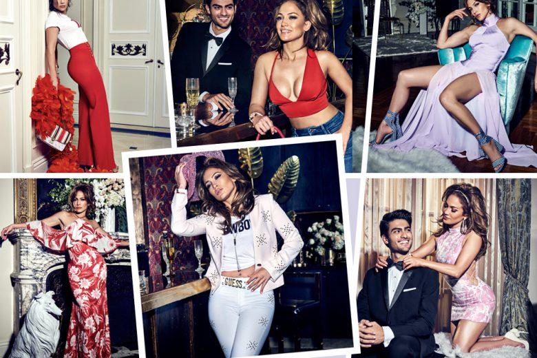 Jennifer Lopez per GUESS, protagonista della campagna P/E 2018
