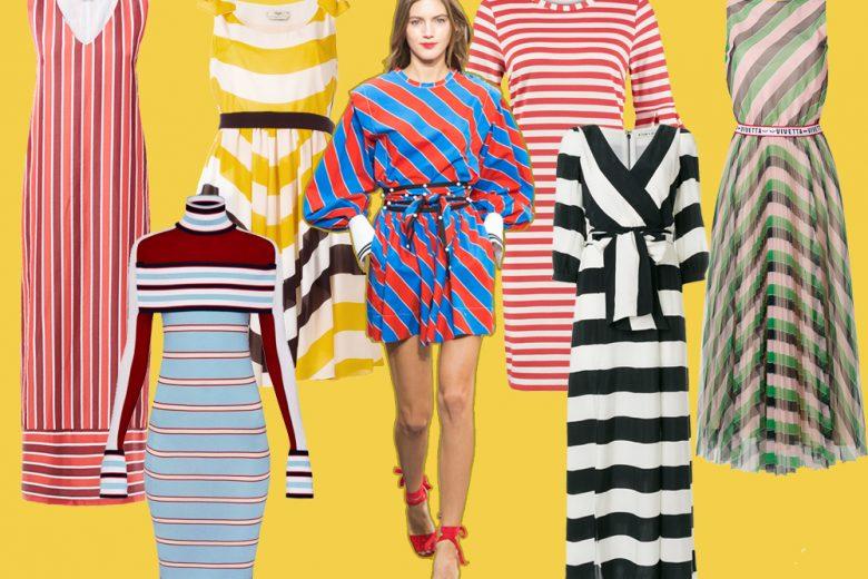 """Tutte in riga… i vestiti """"striped"""" più cool della Primavera 2018"""