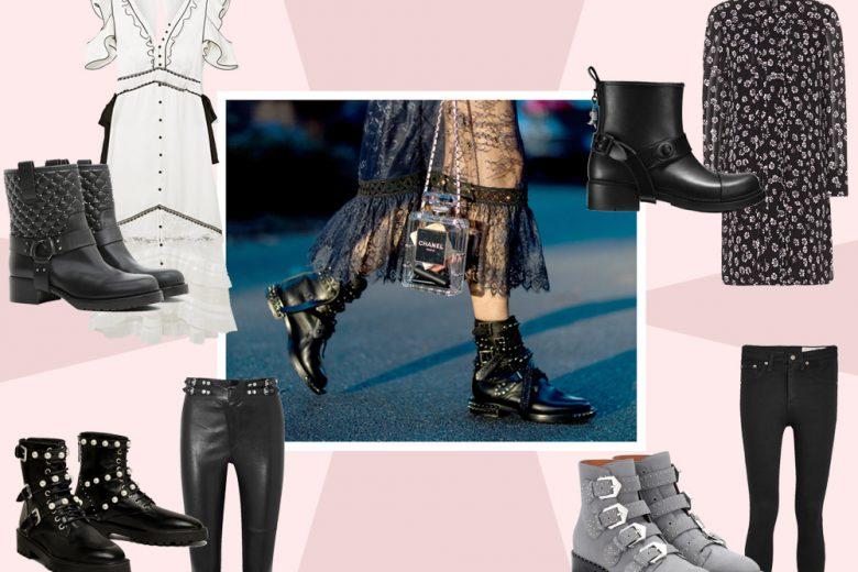 Come indossare i biker boots in primavera: 5 look da provare