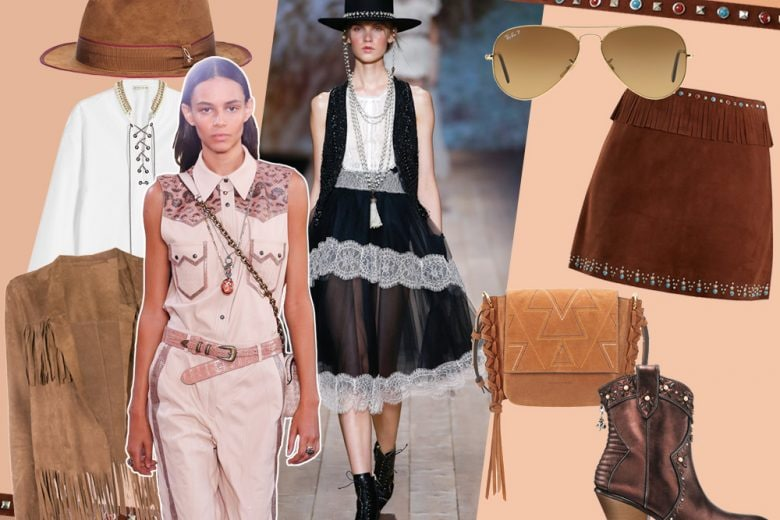 Far West Story: la moda di primavera si ispira alle cow-girl