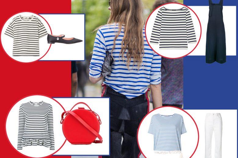 7 modi per indossare (con stile) la maglia a righe