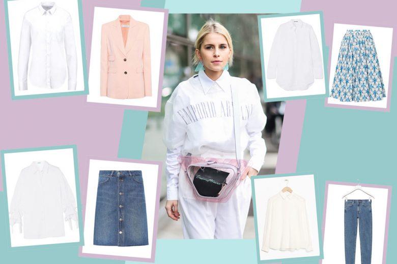 Come indossare la camicia bianca: 7 outfit (super fashion) da copiare subito!