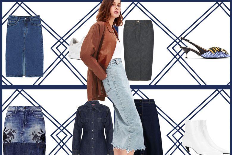 Gonne di jeans: 6 modelli fantastici e come abbinarli