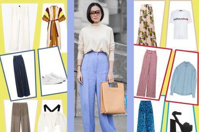 Pantaloni a palazzo: 6 modi cool per indossarli in primavera