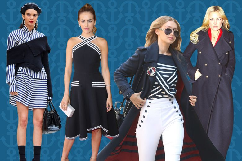 Navy Style: ecco come lo interpretano le star