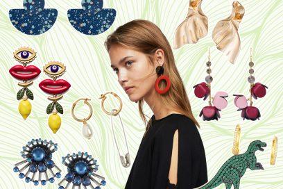 Potere ai maxi orecchini: le proposte per la Primavera 2018