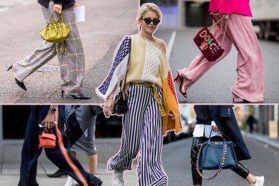 Pantaloni: 5 tendenze per la Primavera 2018