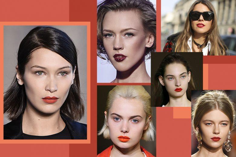 Rosso fuoco, rosso arancio o rosso scuro: scegliete il vostro red lipstick!