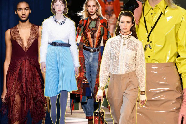 Abbigliamento: le tendenze moda per l'autunno-inverno 2018