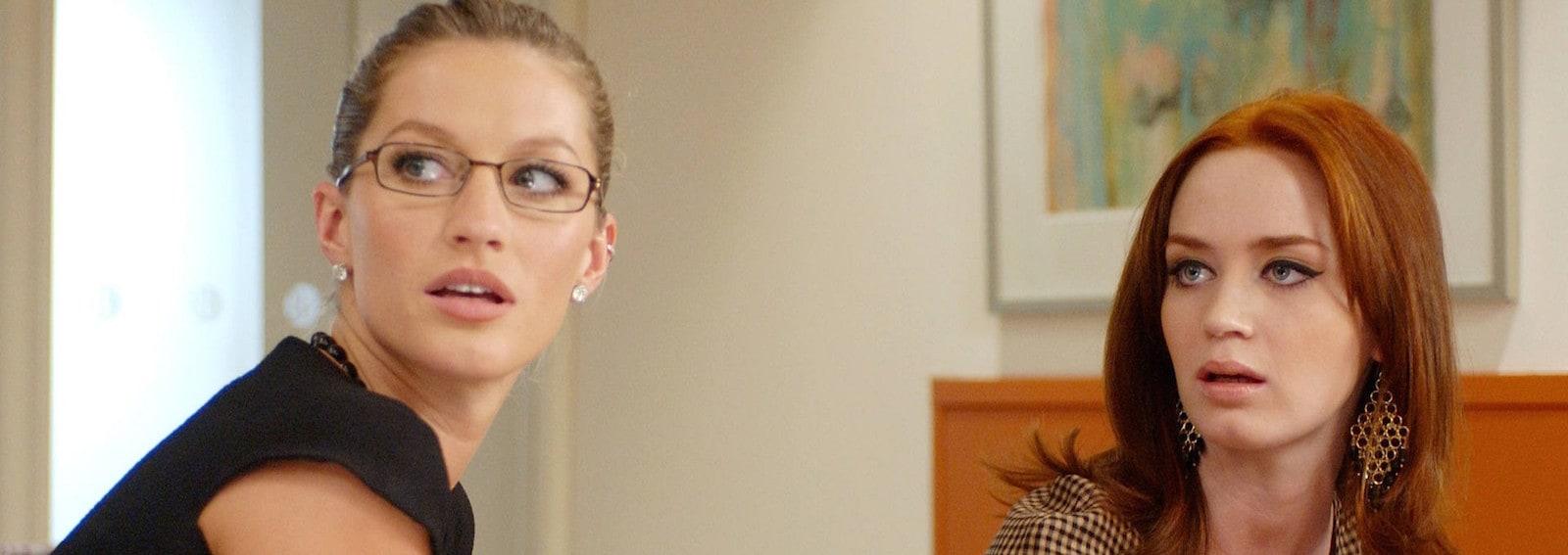 Emily Blunt orecchini oro