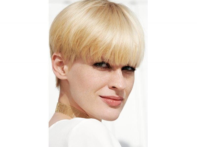FRANCK PROVOST tendenze frangia lunga capelli saloni primavera estate 2018