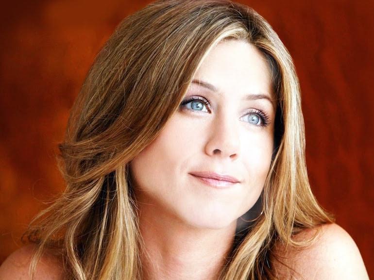 Jennifer Aniston occhi azzurri