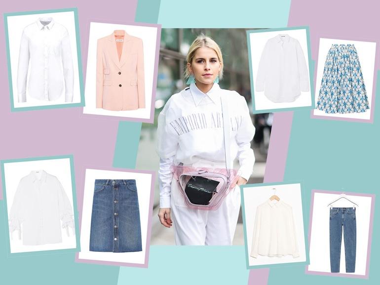 Camicia bianca: 7 outfit super fashion per indossarla 24 ore su 24