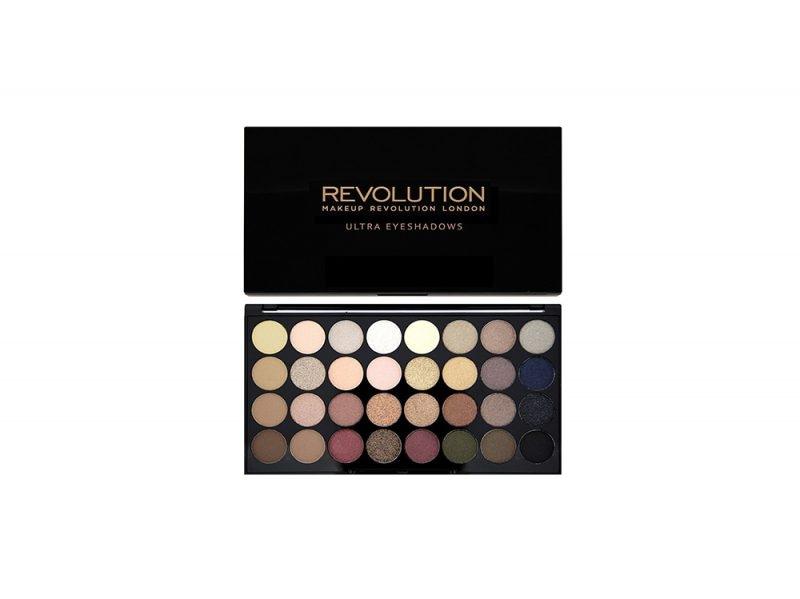 Makeup Revolution – Palette di 32 ombretti Ultra – Flawless