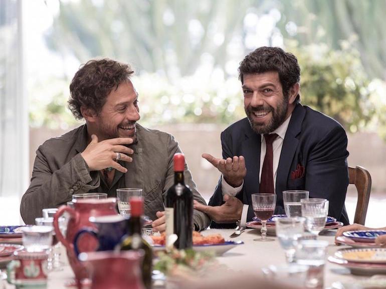 Stefano Accorsi e Pierfrancesco Favino