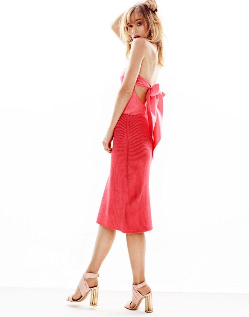 Suki-Waterhouse-vestito-rosso