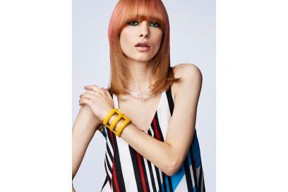 Z.ONE CONCEPT tendenze frangia lunga capelli saloni primavera estate 2018