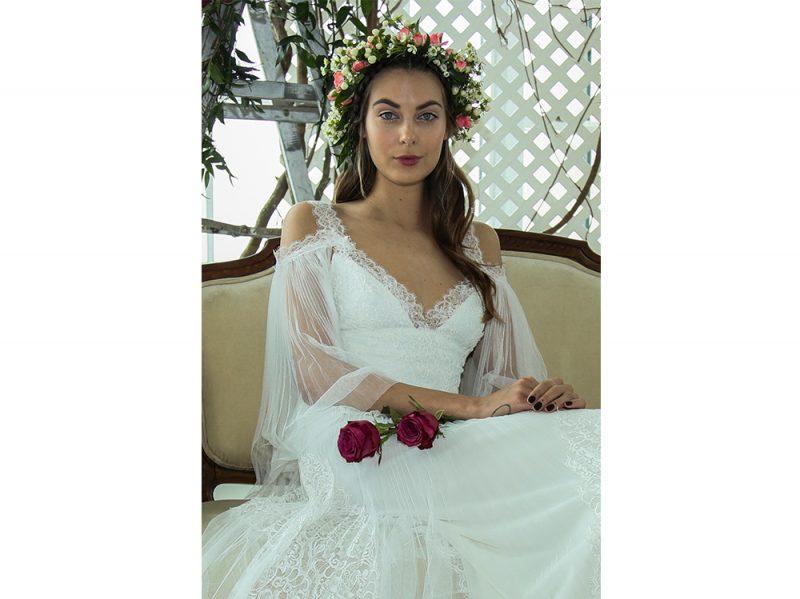 acconciature sposa capelli con accessori 2018 (9) 75f881e5f256
