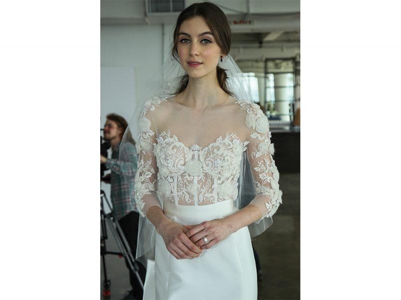 acconciature sposa capelli raccolti 2018 (10)