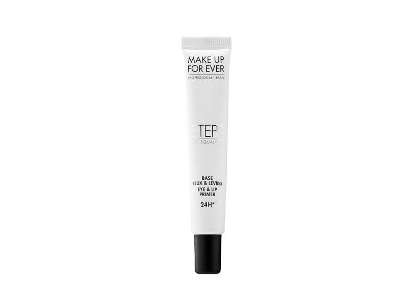 base occhi e labbra make up for ever step 1 paris jackson copia il look trucco glowy e labbra metallizzate (4)