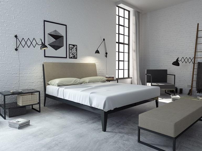 camera da letto casa affitto 6