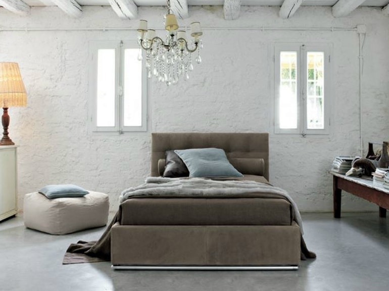 camera da letto casa affitto 8