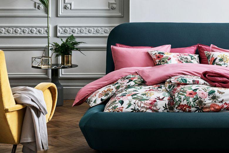 6 colori da abbinare nell'arredamento della camera da letto