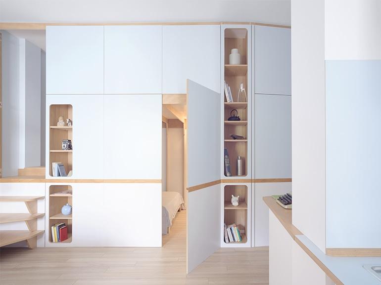 Come arredare un mini appartamento sfruttando ogni for Arredare un mini appartamento