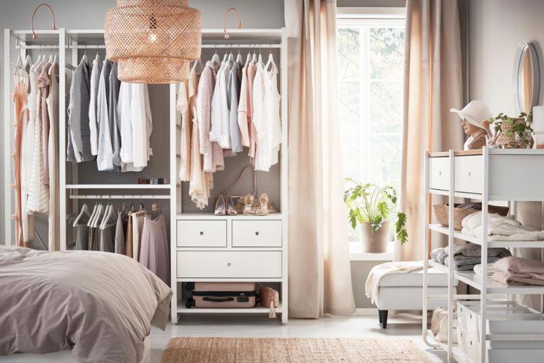 Organizzare l'armadio come Marie Kondo