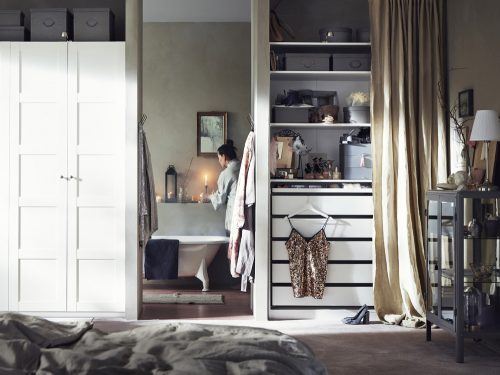 Armadio Nero Ikea : Come arredare il guardaroba con ikea grazia.it