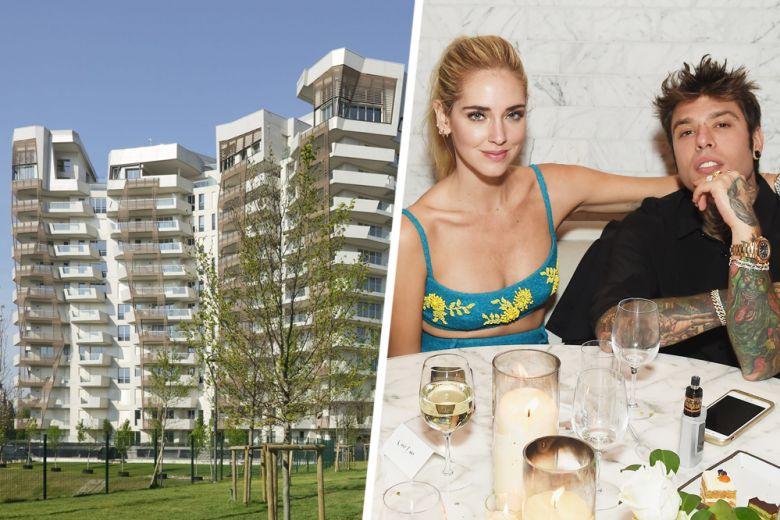Chiara Ferragni e Fedez affittano la loro casa a Milano