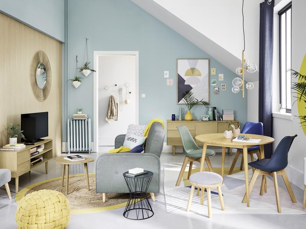 10 idee per arredare un salotto molto piccolo for Idee per tinteggiare il salotto