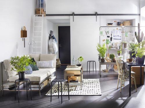 Letto Libreria Ikea : Idee per arredare un monolocale con ikea grazia
