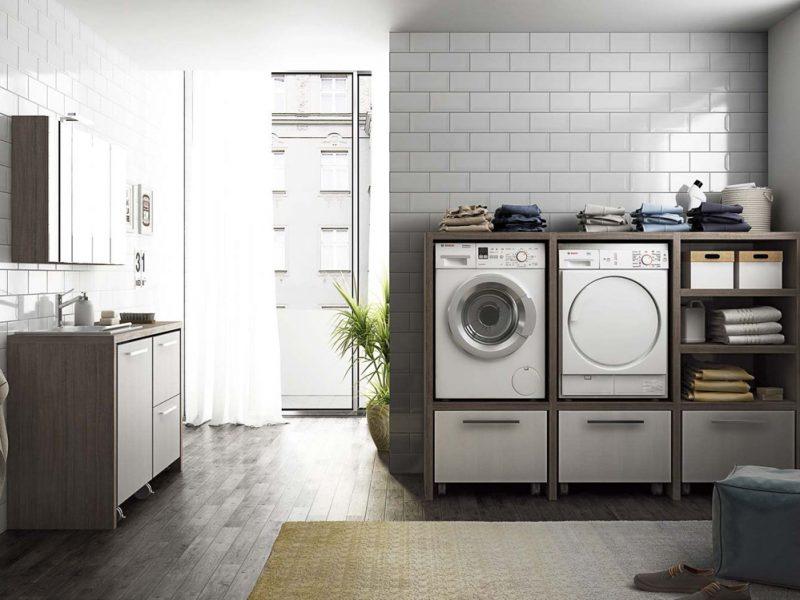 Come ricavare in casa lo spazio per la lavanderia - Camera nascosta in bagno ...
