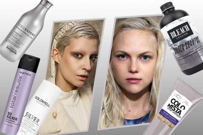 Silver shampoo: la formula viola per capelli biondo platino