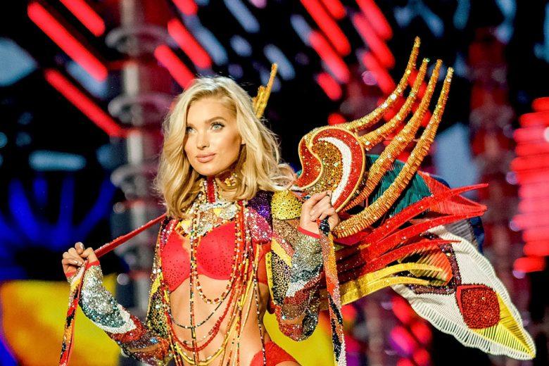 Elsa Hosk beauty look: trucco e capelli della modella angelo di Victoria's Secret
