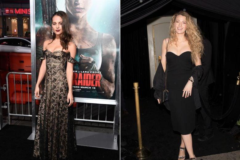 Alicia Vikander, Blake Lively e le altre star meglio vestite della settimana