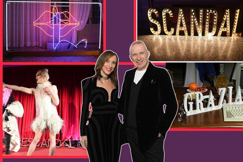 Jean Paul Gaultier Scandal: il party esclusivo con Grazia