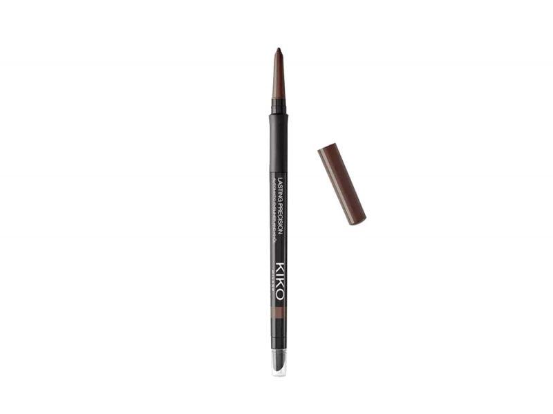 kiko matita occhi marrone paris jackson copia il look trucco glowy e labbra metallizzate (5)