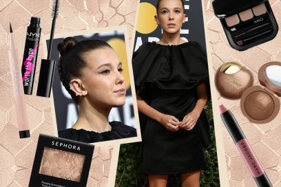 Millie Bobby Brown: copia il look con viso luminoso ed eyeliner