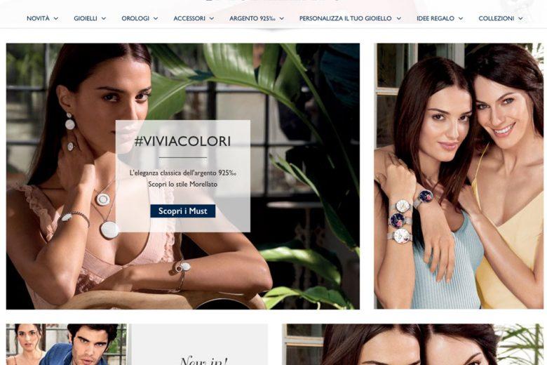 Morellato: l'e-shop online si rifa il look